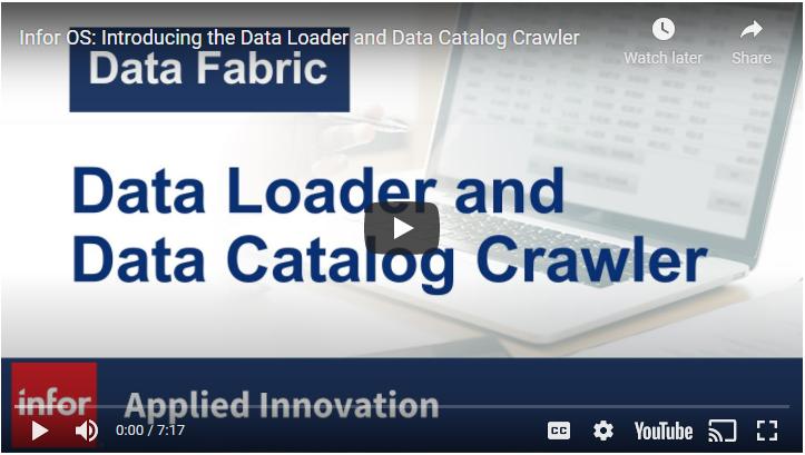 Introducing the Data Loader and Data Catalog Crawler